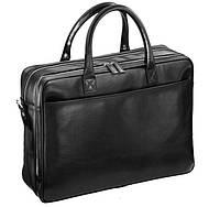 Портфель Blamont Bn026A кожаный Черный