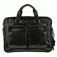 Портфель Blamont Bn035A кожаный Черный