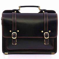 Портфель Manufatto SPS-4Black кожаный Черный