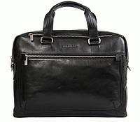 Портфель Blamont Bn005a кожаный Черный