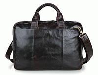 Портфель S.J.D. 7092-3C кожаный Коричневый