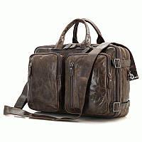 Портфель S.J.D. 7014C-1 кожаный Коричневый