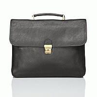 Портфель Katana k31042-1 кожаный Черный