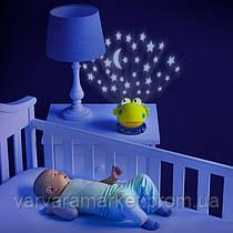 Лампа-проектор з музикою Bright Starts Жабка 52031