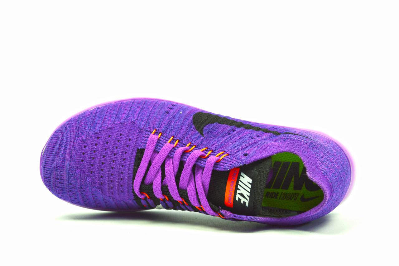 ad26fc92 ... Фиолетовые женские спортивные кроссовки Nike Free Run Flyknit ( новинки  весна, лето, ...