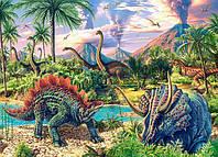 """Кастор пазлы 120 midi """"Динозавры"""" 32*23 /40/(В-13234)"""