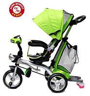 Трехколесный велосипед Baby Trike CT-95 , рез колеса, поворот сидение, зеленый