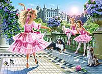 """Кастор пазлы 180  """"Балерины"""" 32*23 /20/(В-018222)"""