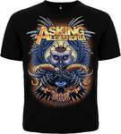 Рок футболка Asking Alexandria (сова)
