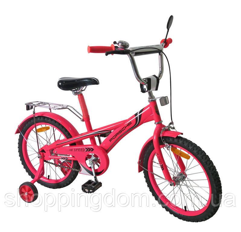 Велосипед 2-х колес 20'', со звонком, зеркалом, руч.тормоз, без доп. колес (1шт)(172030) - ШоппингДом в Днепре