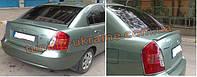 Анатомический спойлер под покраску на Hyundai Accent 2006-2010