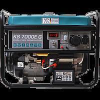 Генератор бензин-газ KÖNNER & SÖNNEN KS 7000E G (Германия)