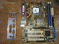 Мат. плата ASUS P5PE-VM (RTL) LGA775 i865G AGP+SVGA+GbLAN SATA MicroATX 2DDR