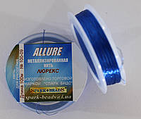 Люрекс Аллюр №09. Синий 100 м, фото 1