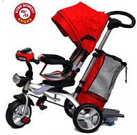 Трехколесный велосипед Baby Trike CT-95 , рез колеса, поворот сидение, красный