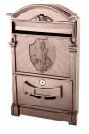 Почтовый ящик VITA цвет коричневый Почтальон Печкин