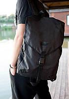 Рюкзак мужской черный портфель