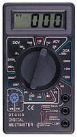 Мультиметр DT 830 B, цифровой мультиметр, тестер вольтметр амперметр, электронный dt мультиметр