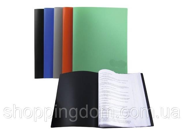 Папка А4, пластик на 10 файлов, 330/15микрон(HW10A) - ШоппингДом в Днепре