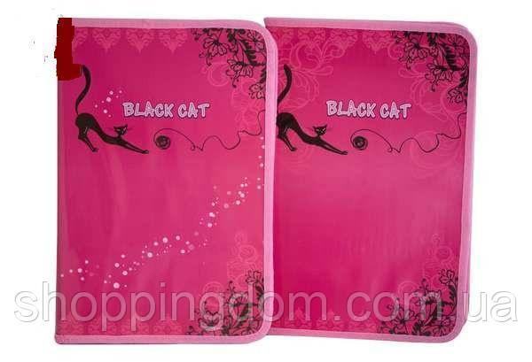 Папкадляработы BLACK CAT,А4,картонная,глитерс двух сторон, Мультяшки, 34*24см(7871) - ШоппингДом в Днепре