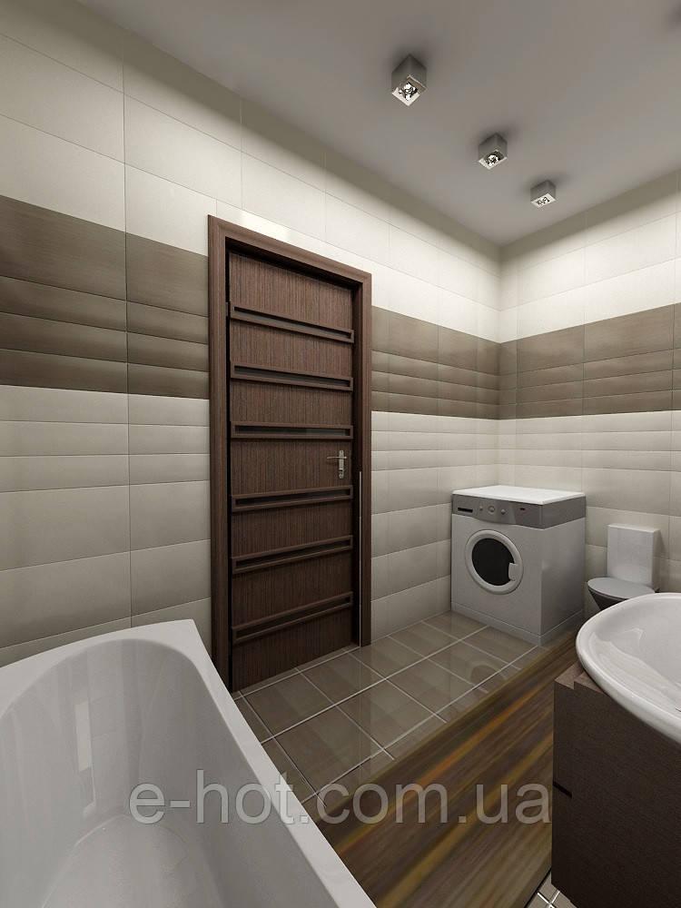 Дизайн-проект ванной, Ванная комната 2