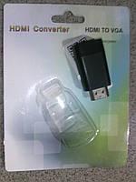 Конвертер HDMI-VGA цифрового сигнала в аналоговый