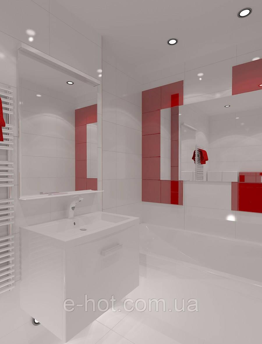 Дизайн-проект ванной, Ванная комната 23