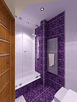 Дизайн-проект ванной, Ванная комната 25