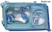 Фара Mercedes E-Class W124 89-93 правая (DEPO) светлая рамка 1248206061