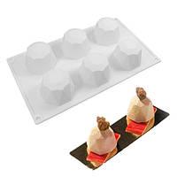 Форма для евродесертов силикон Кристалл , фото 1