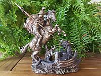 Статуэтка Veronese Георгий Победоносец 20 см с бронзовым покрытием 75858A4