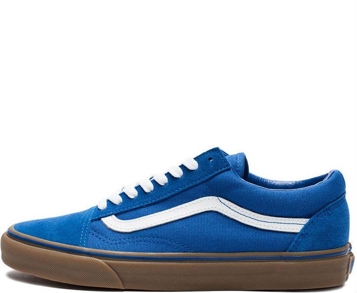 0c409e4c982d Vans Old Skool Olympian Blue Gum Sole White   кеды женские и мужские вэнс   синие