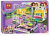 Конструктор подружки Friends 41133 Парк развлечений: Аттракцион-автодром аналог лего Lego - 429 деталей