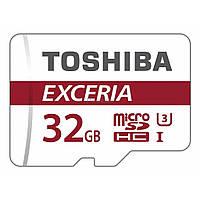 Карта памяти TOSHIBA 32GB microSDHC class 10 (THN-M302R0320EA)
