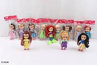 """Кукла """"Принцесса"""", 12видов, в пак. 13см (720шт/3)(L2015-81A)"""