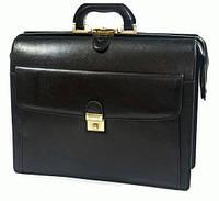 Портфель Katana K63040-1 кожаный Черный