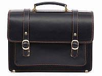 Портфель Manufatto SPS-1Black кожаный Черный