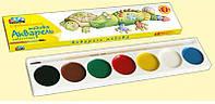 Краски акварельные Гамма медовые Любимые игрушки 7 цветов (311034)