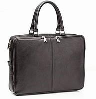Портфель Blamont Bn069A кожаный Черный