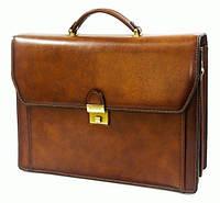 Портфель Katana K63032-3 кожаный Коричневый