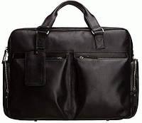 Портфель Blamont Bn002A кожаный Черный