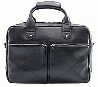 Портфель Blamont Bn012A кожаный Черный