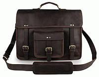 Портфель S.J.D. 7234R-1 кожаный Коричневый
