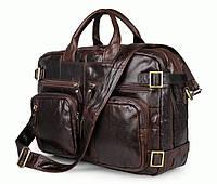 Портфель S.J.D. 7026Q-1 кожаный Коричневый