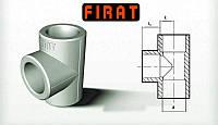 Тройник Ø25 полипропиленовый  Firat