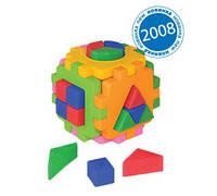 """Куб """"Розумний малюк """" Логіка 2, в кул. 10*10см, ТМ Технок, Україна (24шт)(2469)"""