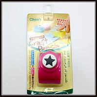 Дырокол фигурный Звезда кнопка 1,8 см