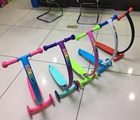 Самокат, 3 цвета, 3 колеса PVC, в кор. 67*33*21см(6шт)(SC17104)