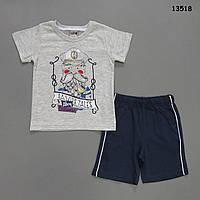 "Летний костюм ""Капитан"" для мальчика. 2-3;  4-5;  5-6 лет, фото 1"