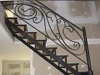 Лестница металлическая кованая